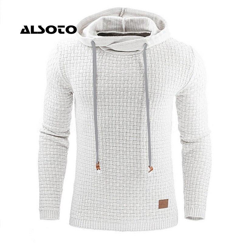 Hoodies Men 2017 Male Long Sleeve Solid Color Hooded Sweatshirt Mens Hoodie Tracksuit Sweat Coat Casual Sportswear