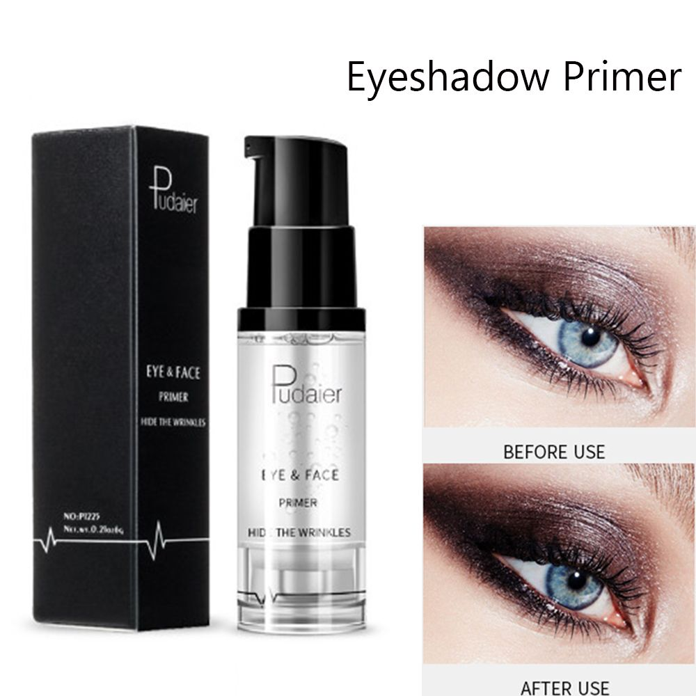 Pudaier Natural base Eyeshadow shadows primer Prolong Eyeshadow waterproof Long-lasting Eyeshadow Keep Eye Brightly Cosmetics image