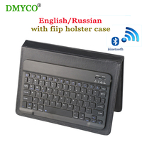Russian Ultra Slim Wireless Bluetooth Keyboard With USB 80 Keys Thin Light Portable For 7 9