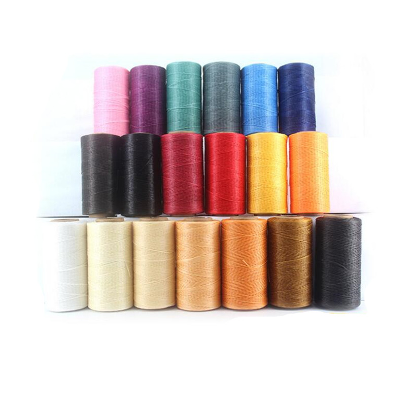 260meters/roll 0.8MM Waxed Leather Thread Wax Cotton Cord String Strap Necklace Rope Bead For Shamballa Bracelet Z726 layered rope bead bracelet