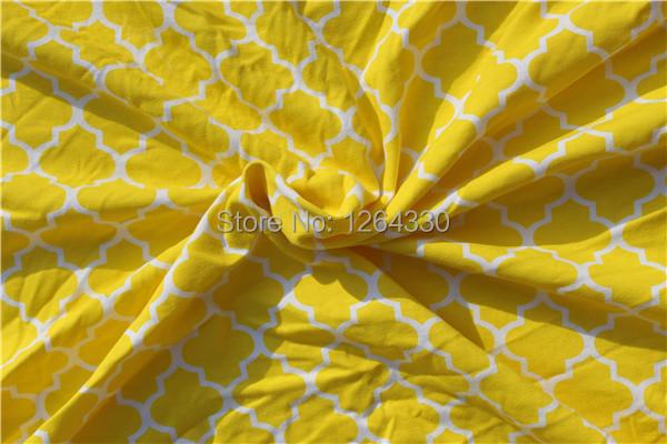 Belo quadrifoil Impresso Tecido 100% Algodão para As Crianças Se Vestem Cama Pano 100*160 CENTÍMETROS KP-BL14