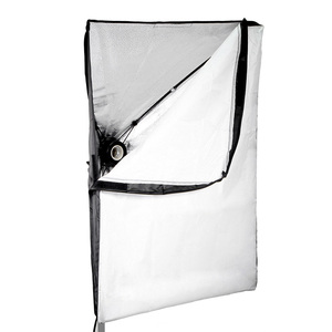 Image 5 - 50*70CM Photography Studio Wired Softbox Lamp Holder with E27 Socket for Studio Continuous Lighting Fotografie Accessoires