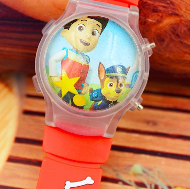 Kids Watches Colorful Flash Light Electronic Children Watch Girls Birthday Party Gift Clock Wrist Dropshipping