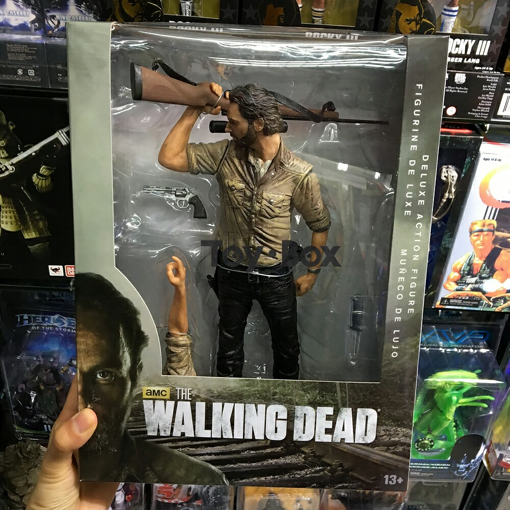 The Walking Dead TV Rick Grimes 10-Inch Deluxe Action Figure Andrew Lincoln