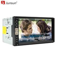 Junsun 7 Inch 2 Din Car DVD Radio Player GPS Universal Bluetooth Double Din Car Stereo