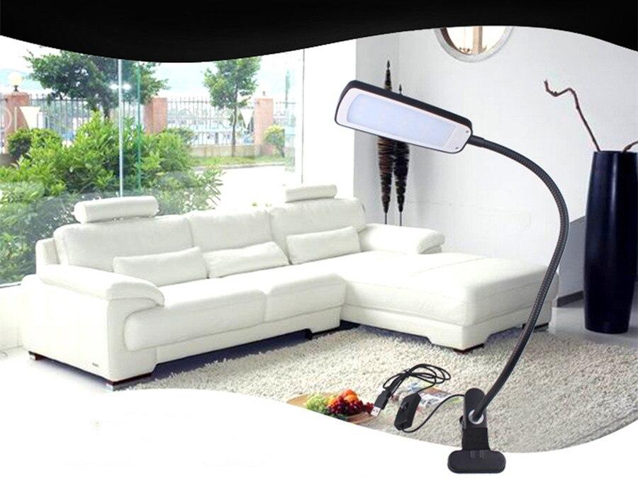 Moderne Lampen 70 : Mode cm moderne led clip light flexible usb tischlampe student