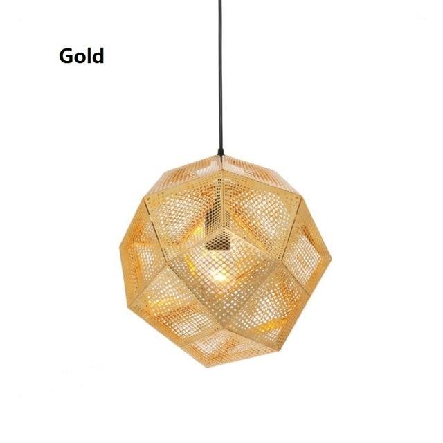 D25cm 48cm Tom Dixon Designer Modern Pendant Lights Etch Web Pendant