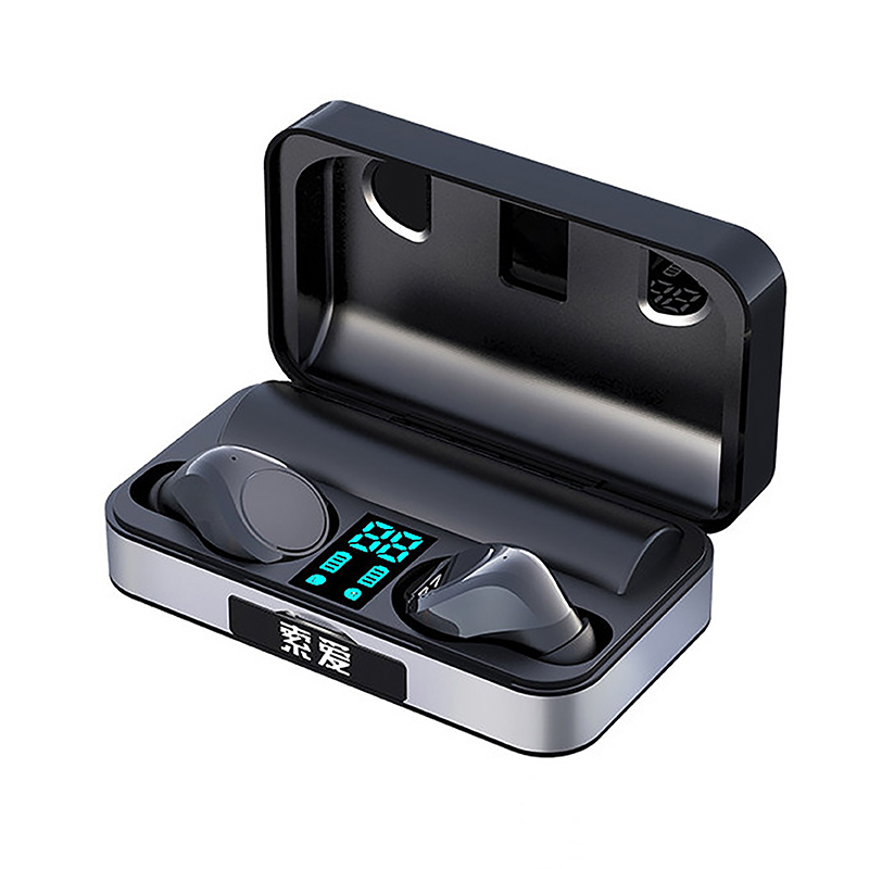 <font><b>TWS</b></font> Bluetooth Earphone 5.0 Mini Sport HIFI Stereo LED Power Display Touch Wireless Earbuds Gaming Headset With Mic Charging Box image