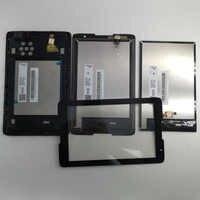 8 pollici Monitor Lcd Touch Screen Digitizer Assemblea di Vetro con telaio Per Lenovo IdeaTab A8-50 A5500 A5500F A5500H A5500HV