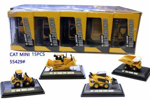 цена на Rare! Norscot Scale Models Cat Construction Mini's Assortment Miniature 15 units