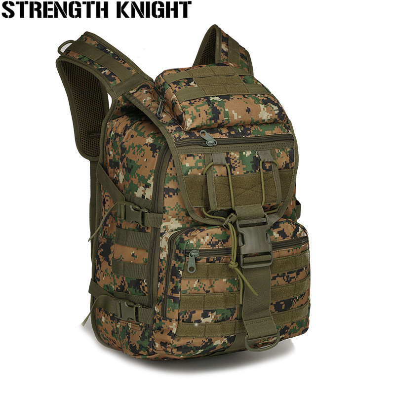 40L Men Waterproof Nylon Laptop Backpack Molle Military 3P Tad Backpack Women Big Assault Travel Bag Packsack promotional camping bags unisex outdoor waterproof molle bagpack military 3p tactical backpack big assault travel bag packsack