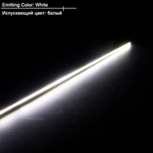 10pcs LED COB bar thin Strip 600MM 400MM 300MM 200MMx6MM 12V DIY Car Lights Outdoor Indoor with 3M sticky lighting project tube