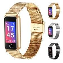 Купить с кэшбэком Original Y8 Smart Watch Women fitness tracker Smart bracelet Heart Rate Blood Pressure Blood Oxygen Pedometer  Smartwatch