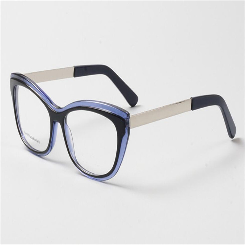 Der Nähe Auge Retro Lesen Acetat Vollrand brennweite Rahmen Multi Frauen Mode Mongoten In Von Katze Brillen Sehen Design Weit Progressive Z4n6qU5