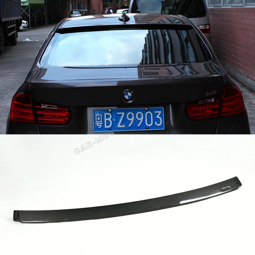 New arrival f30 carbon fiber auto car roof wing spoiler for Wing motors automobiles miami fl