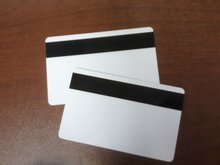 1000pcs Blank PVC Hico magnetic stripe card Plastic Credit Card printable for card