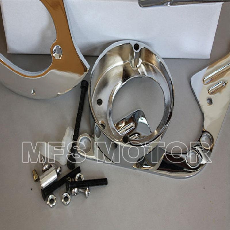 Motorradteile Chrome Spike Luftfilter für Yamaha Road Star 1600 ...