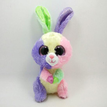 Ty Plush Animal Beanie Boos Big Eyes Rabbit Holiday Christmas Gift Stuffed Animals Toys font b