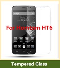 Doogee Homtom HT 6 Tempered Glass 100% Original High Quality Screen Protector For Homtom HT6 Mobile Phone Protective Accessories