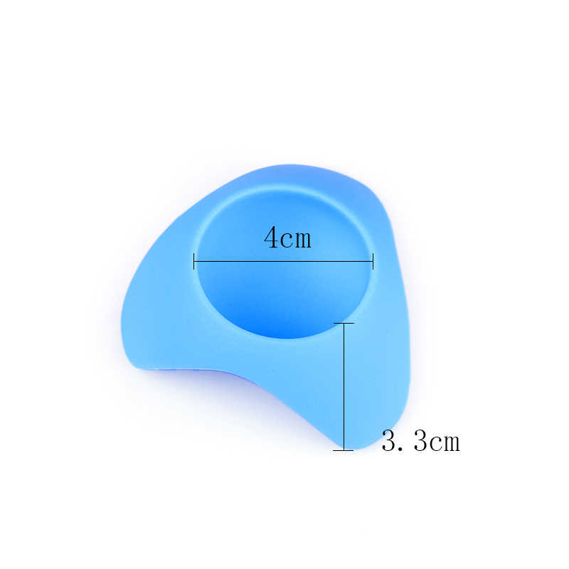HOUORNG 2pcs/lot New Arrival   Food Grade Silicone Egg Cup Holder Steam Eggs Seat Creative Silicone Tools