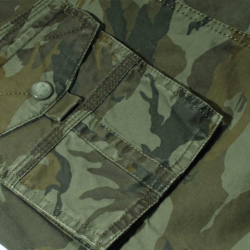 Calidad camuflaje pantalones cortos hombres 2019 nuevo Mens Shorts informales para Hombre Pantalones cortos de trabajo sueltos hombre militar pantalones cortos tamaño 29-44