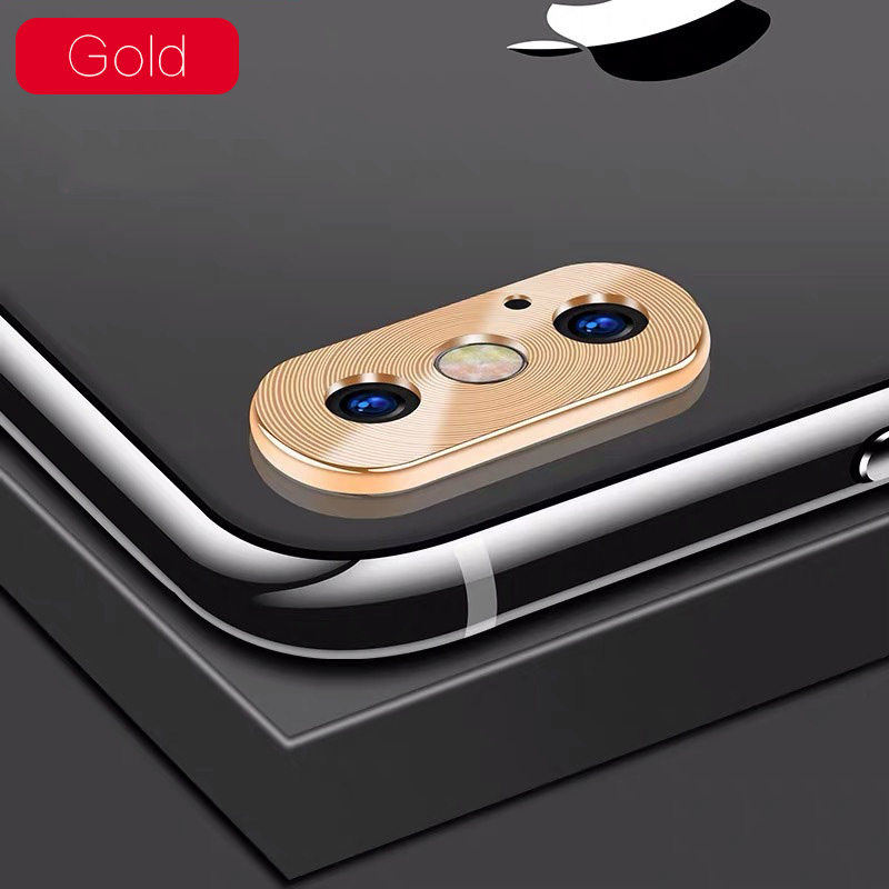 KIPX1118J_1_Metal Camera Lens Protector for iPhone X XS XR XS Max 360 Full Protection Anti-scratch Camera Protective Cover