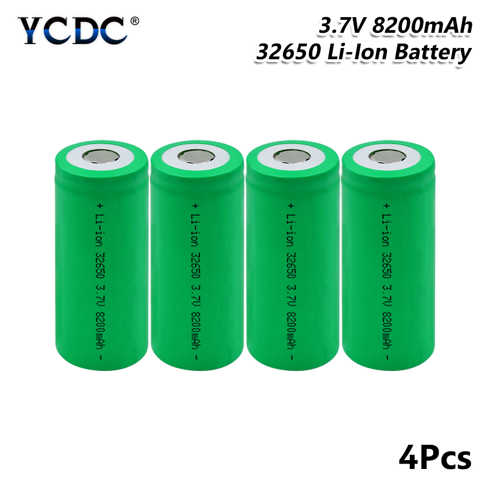 YCDC 3.7V 8200mAh Rechargeable 32650 Lithium high discharge Batteries high current Battery For Flashlight Backup Power|Replacement Batteries|   - AliExpress