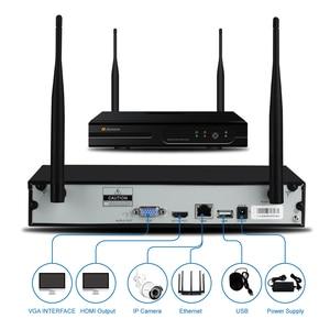 Image 5 - Einnov H.264 + NVR Kit Video Überwachung Wifi 1080P IP Kamera CCTV Set Startseite Wireless Security Kamera System Wasserdicht IP66 HD