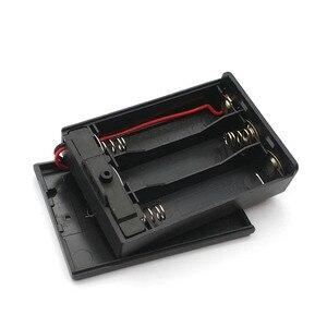 Image 4 - 3 AA 4.5 فولت صندوق حامل البطارية الحال مع التبديل جديد 3 AA 2A صندوق حامل البطارية الحال مع التبديل 4.5 فولت