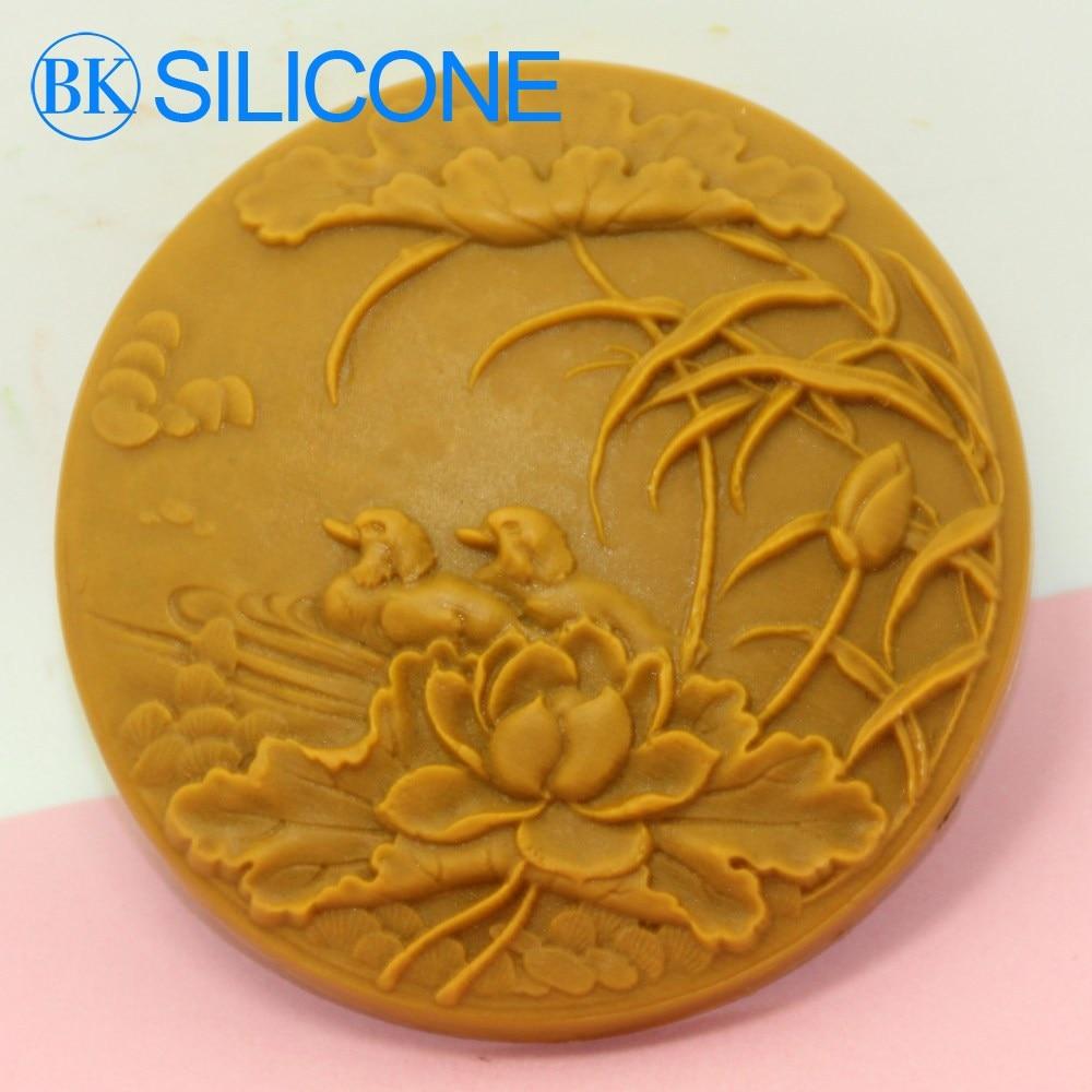 silicone soap mold Mandarin duck BKSILICONE