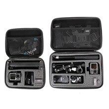 Sac de rangement Portable étui de protection boîte sac à main pour DJI OSMO Action GoPro Hero 8 7 6 5 4 YI 4K Sjcam accessoires de caméra