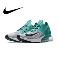 Original authentic Nike Air Max 270 Flyknit women's running shoes outdoor sports shoes fashion breathable comfort AH6803 300