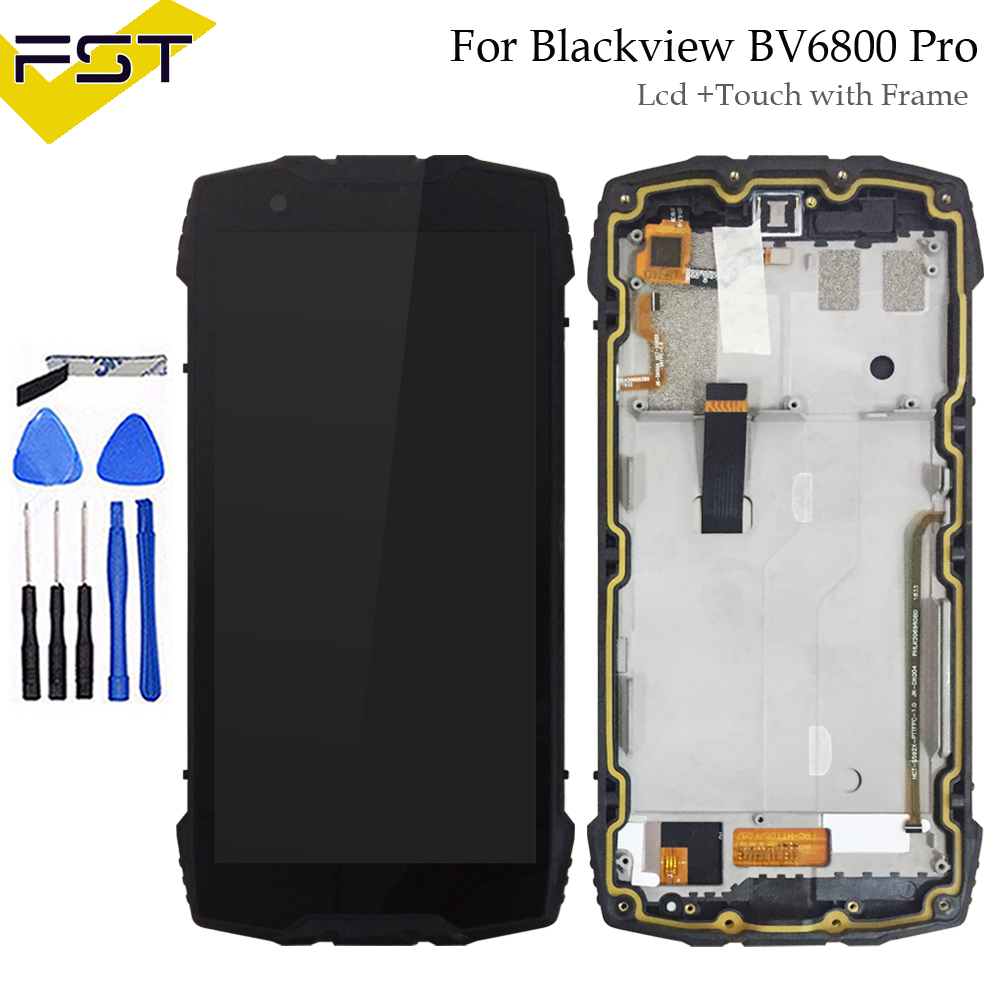 100% Tested  5.7 For Blackview BV6800 Pro Lcd Display with Touch Screen Digitizer Lcd With Frame Assembly Replacement Parts100% Tested  5.7 For Blackview BV6800 Pro Lcd Display with Touch Screen Digitizer Lcd With Frame Assembly Replacement Parts