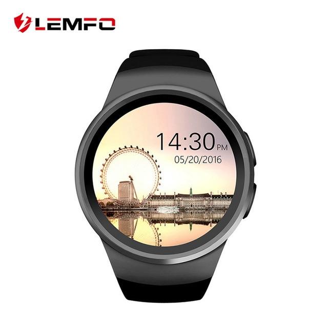 KW18 Smart Watch Digital smartwatch Bluetooth Reloj Inteligente SIM Round Heart Rate Monitor Clock Full IPS Screen