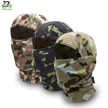 WOSAWE Camouflage Balaclava Full Face Mask Wargame Cycling Hunting Ski Army Bike Military Helmet Liner Tactical Airsoft Cap