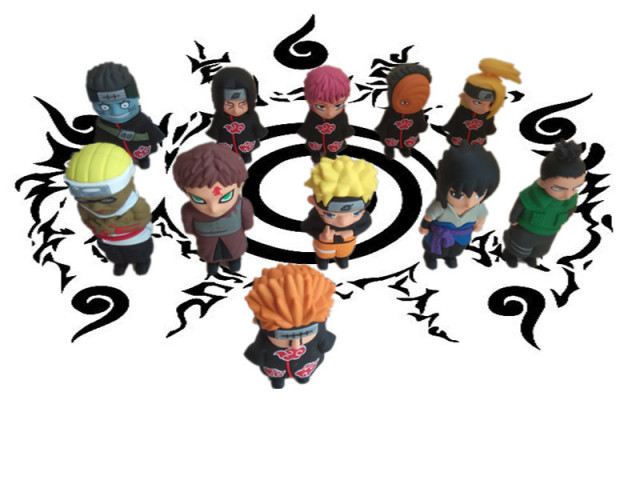 Naruto Portable 4400mAh Power Bank