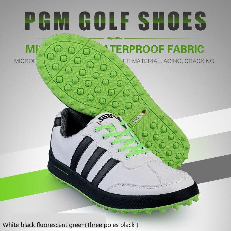 2018 PGM chaussures de Golf hommes ultralégers chaussures de sport imperméables respirant anti-dérapant baskets pour homme grande taille - 6