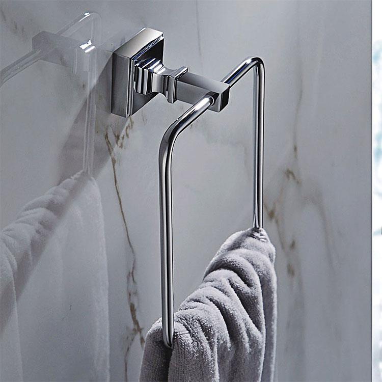 ФОТО Brass chrome Towel Ring,Bathroom Accessories Products Towel Holder,Towel Rack-Q87080