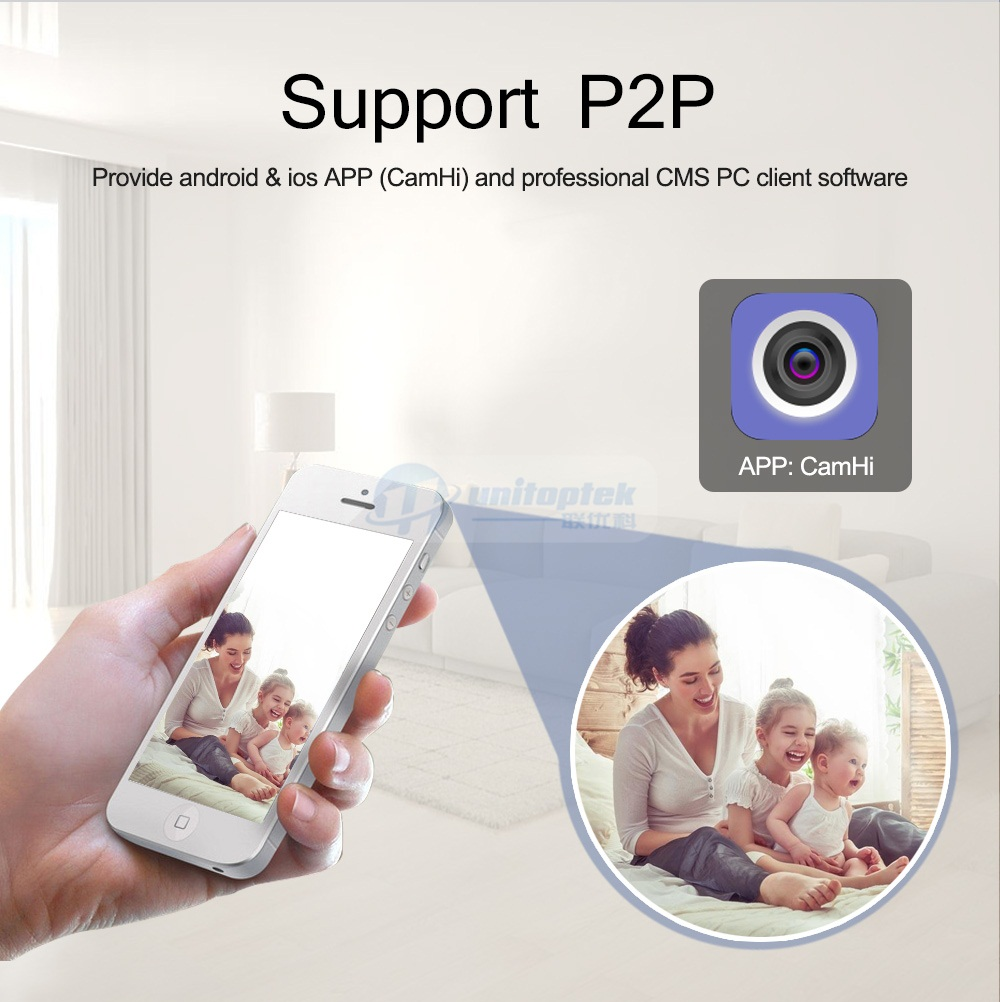 Wireless Speed Dome Ptz Ip Camera Wifi Hd 1080P 960P Auto Focus 5X Zoom  2 7-13 5Mm Indoor Audio Sd