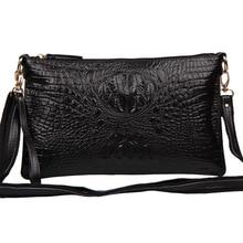 Frauen Umhängetasche Weibliche Mode Handtaschen Leder Alligator Muster Crossbody Frauen Messenger Bags Umschlag Abend Handtasche
