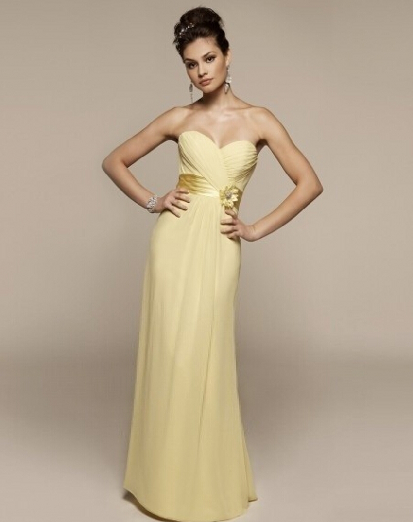 Summer Chiffon Yellow Mother of the Bride Dresses Pant