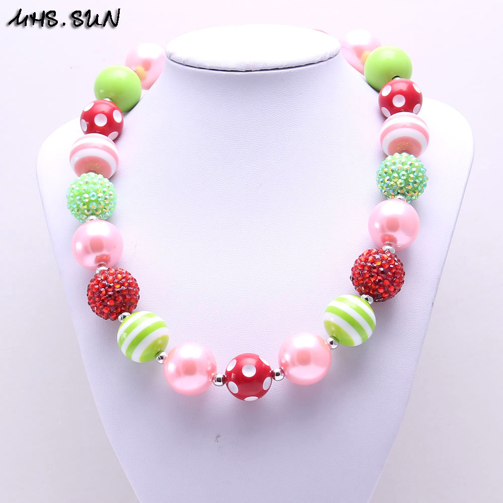 design necklace sun bead color jewelry bubblegum for coffee children kid girls toddler thanksgiving from chunky mhs product