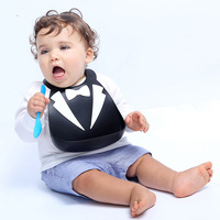 New Design Silicone Baby Bibs Waterproof Silicone Feeding Baby Bibs Burp Cloths For Children Self Feeding