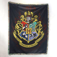 Harry Potter College Tapestry Wall Hanging Decorative Sofa Cover Table Blanket Carpet Multi purpose Blanket 115x150cm