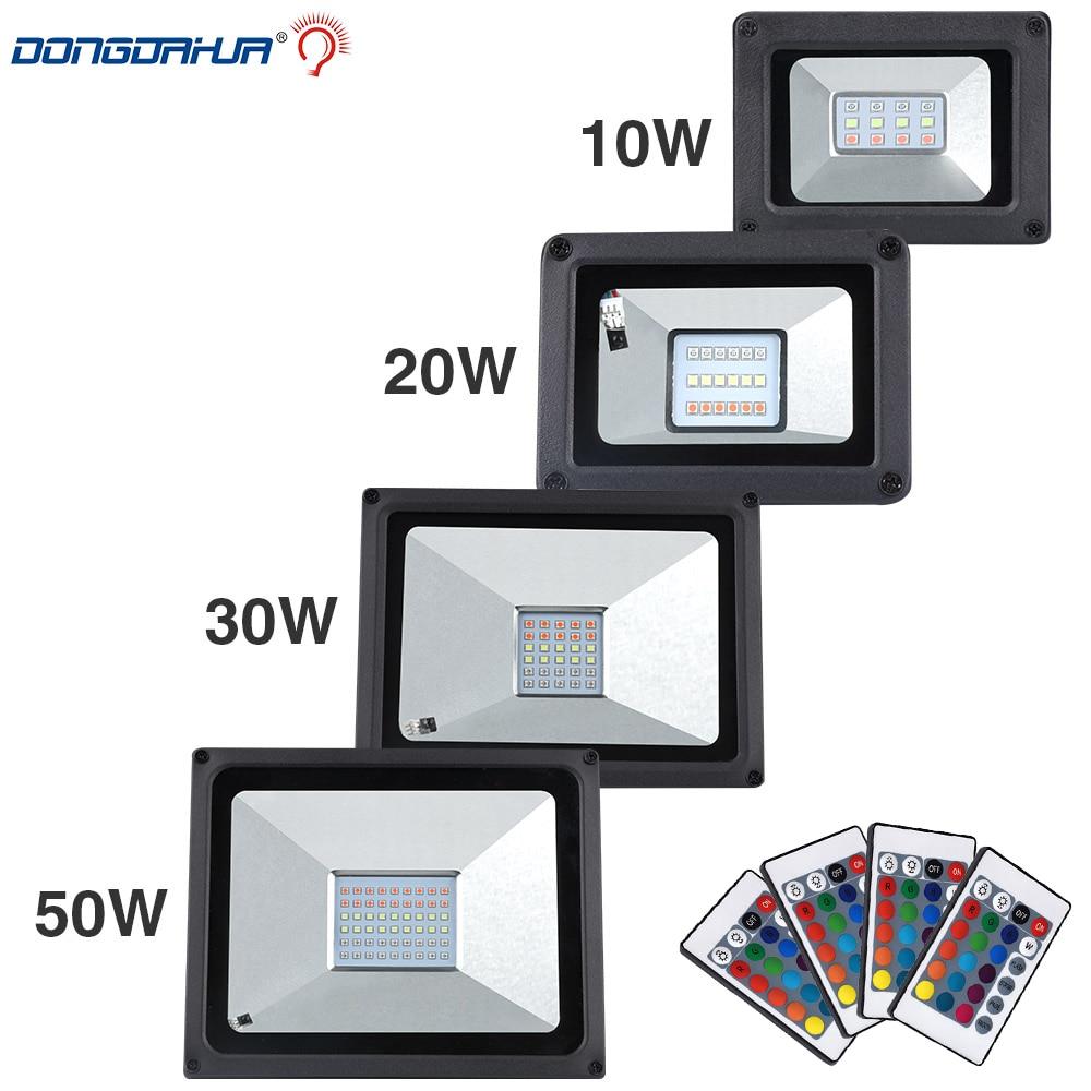 Lowest Price 10W 20W 30W 50W Spotlight RGB/Cold White / Warm White LED Flood Light COB Exterior Spotlight IP65 LED Outdoor Light