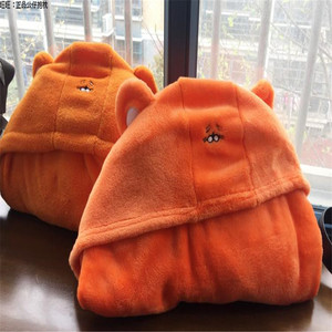 Image 5 - Himouto! Umaru chan Cloak Anime Doma Umaru Cosplay Costume Cape Home Hooded Cape Blanket Soft Carton Cosplay Cloth  CS14037