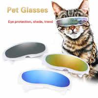 2019 nuevas gafas de sol para perros para mascotas que hacen fotos divertidas personalidad creativa plástico a prueba de viento gato