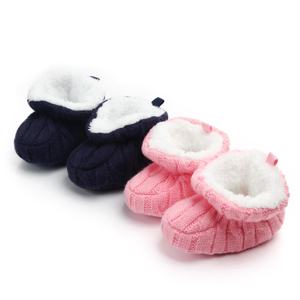 Baby Winter Shoes For Newborns Infant Soft Soled Footwear For Newborns Winter Toddler Keep Warm First Walkers Shoes For Babies
