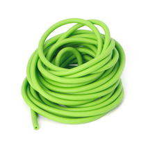 OOTDTY 5M Green Elastic Natural Latex Rubber Band Tube For Hunting Slingshot Catapult  rubber tube