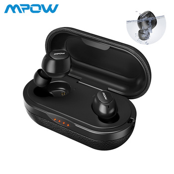 Mpow ipx7 T5 TWS Earphones Wireless Earbuds Bluetooth 5.0 Headset Support Aptx 36h Playing Time For iPhone Android Xiaomi Huawei